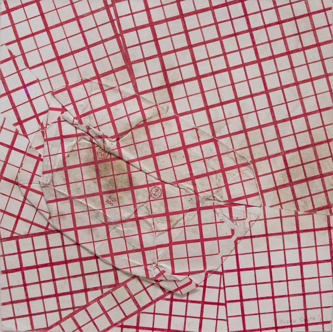 2 ½ lb. Irregular Grid (2012), Susan Smith